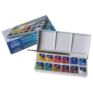 Customizing the Cotman Sketcher's Pocket Box
