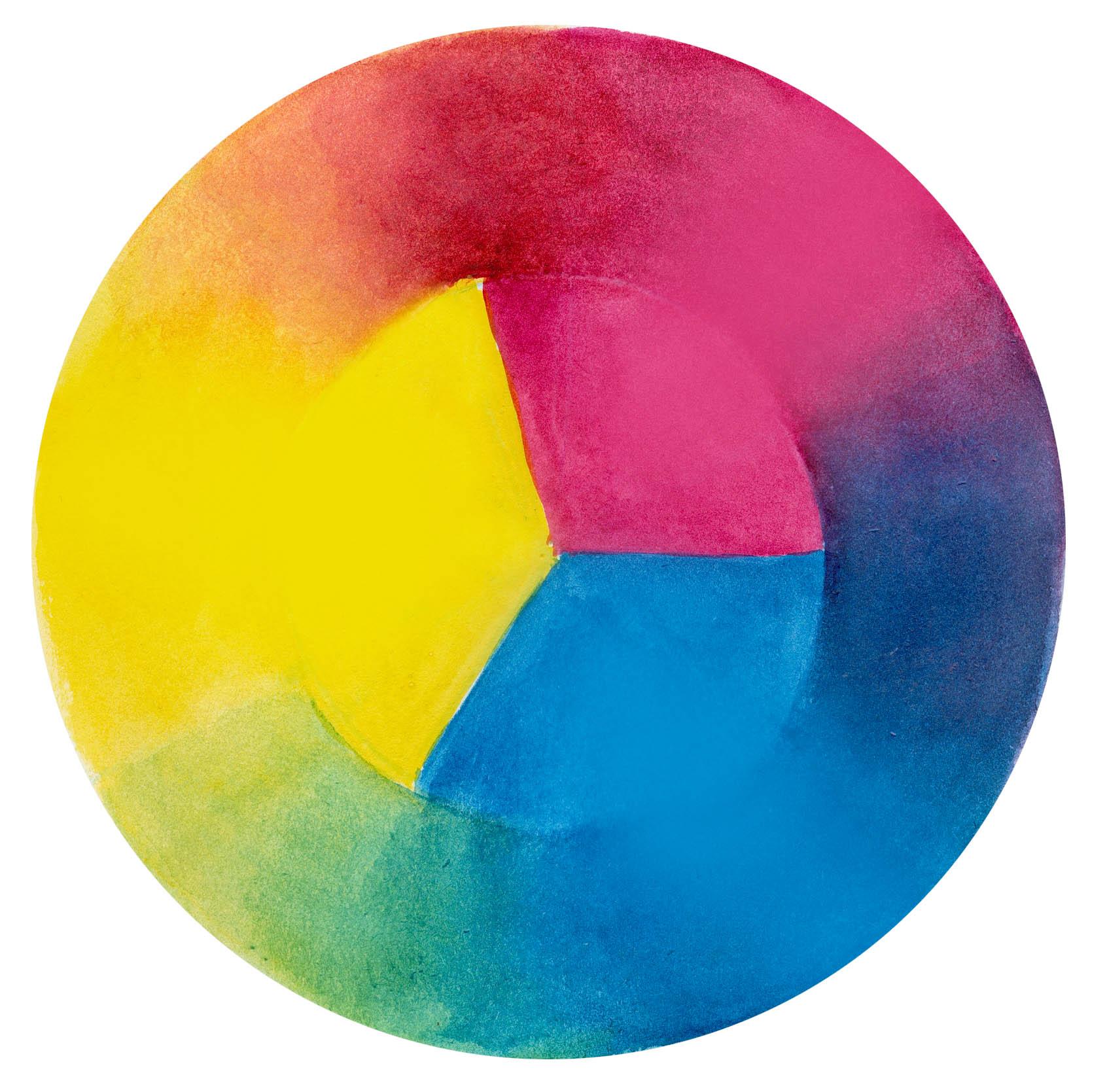 cyan  magenta  yellow color wheel