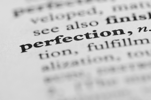 The Enemy of the Good: moving beyond perfectionism