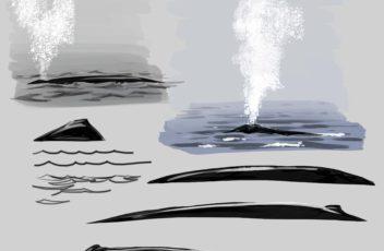 whale spout 14