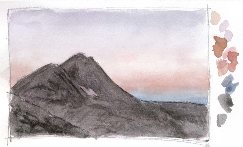 Sierra Sunset Landscapeito